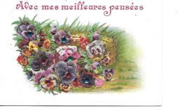 AVEC MES MEILLEURES PENSEES GAUFREE EN RELIEF SCINTILLEMENTS - Fantasia