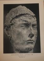 Antoine Bourdelle. Tête D'Apollon. Reproduction De Sculpture Imprimée.1961. - Otros