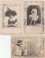 "3 CPA:""REUTLINGER""  DE VÈRE - Künstlerkarten"