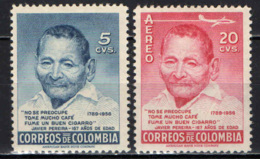 COLOMBIA - 1956 - JAVIER PEREIRA - MNH - Colombia