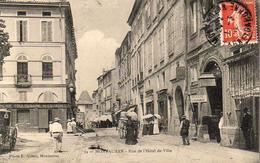 D82  MONTAUBAN  Rue De L'Hôtel De Ville  ........ Carte Peu Courante - Montauban