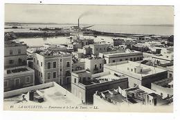 CPA - Tunisie - La Goulette - Panorama Et Le Lac De Tunis - Tunisie