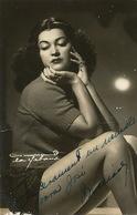 Real Photo Close Up Sexy Cuban Artist Autograph Light Crease - Cuba