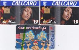 3   MINT     CARDS - Ierland