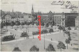 Cassel - Konigsplatz U.Hauptpost - 1907 - Kassel