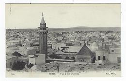 CPA - Tunisie - Panorama - Tunis - Vue à Vol D'oiseau - Túnez