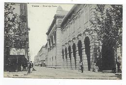 CPA - Tunisie  - Tunis - Hôtel Des Postes - Túnez