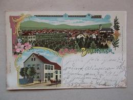 CPA GRUSS Aus BOLLWEILER - BOLLWILLER De 1899 - Frankrijk