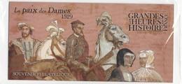 """France : Bloc Souvenir 2019 """"Les Grandes Heures De L'Histoire De France - La Paix Des Dames 1529"""" - Neuf Sous Blister - - Souvenir Blocks & Sheetlets"""
