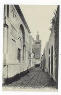 CPA - Tunisie  - Tunis - Le Minaret De La Grande Mosquée - Túnez