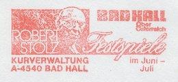Meter Cover Austria 1985 Robert Stolz - Composer - Festival Bad Hall - Musik