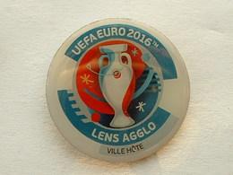 Pin's UEFA EURO 2016 - LENS AGGLO - VILLE HÔTE - Football