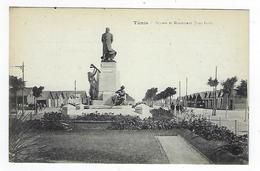 CPA - Tunisie  - Tunis - Square Et Monument Jules Ferry - Túnez