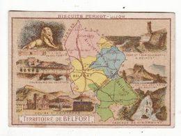 Chromo  BISCUITS PERNOT   Département   Territoire De Belfort     9.7 X 6.7 Cm - Pernot
