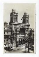 CPA - Tunisie  - Carte Photo - Tunis - La Cathédrale - Túnez