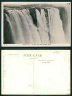 OF [ 18928 ] - ZIMBABWE - VICTORIA FALLS SOUTHERN RHODESIA RAINBOW MAIN FALL CATARCT ISLAND - Zimbabwe