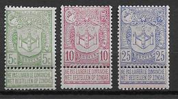 OBP68/70 Postfris** - 1894-1896 Exhibitions