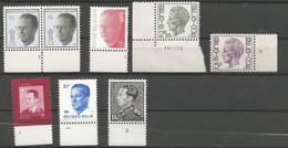 Lotje Postfris Zonder Scharnier Met Plaatnummer - 1990-1993 Olyff