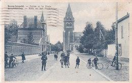 Leopoldsburg - Kerk En Het Postkantoor - Leopoldsburg