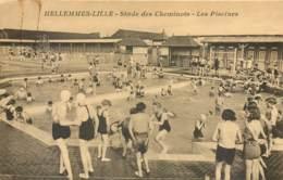 59 - HELLEMMES LILLE - Stade Des Cheminots - Les Piscines - Animée Et Pas Courant - Lille