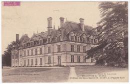 CPA Cellettes, Chateau De Beauregard, Gel. 1936 - Autres Communes