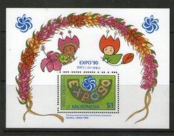 MICRONESIE 1990  EXPO'90 YVERT N°B6  NEUF MNH** - Micronésie