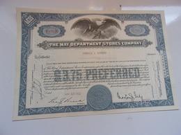 THE MAY DEPARTEMENT STORES COMPANY (USA) - Azioni & Titoli