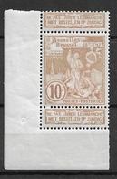 OBP72 Met Bladboorden, Postfris** - 1894-1896 Esposizioni
