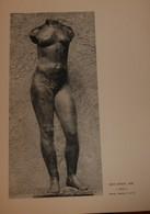 Jean Osouf. Torse. Reproduction De Sculpture Imprimée. 1961. - Other