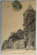 C. P. A. :  18 SANCERRE : Rue De La Halle, Animé, Timbre En 1905 - Sancerre
