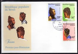 Benin 0581/83 Fdc Coiffures ,  Tresses - Cultures