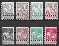 OBP84/91, Postfris** - 1910-1911 Caritas