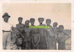 ANCIENNE PHOTO  1920's VINTAGE  PHOTO OUDE FOTO CONGO FEMME FILLE NU NUE NUDE NAKED LADY GIRL GARCON BOY  9 Cm X 6 Cm - Völker & Typen