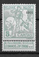 OBP96, Postfris** - 1910-1911 Caritas