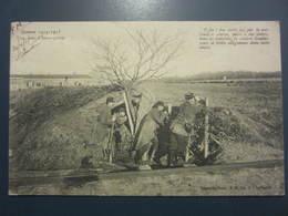 Carte Postale Guerre 14/18 Tranchées D'avant Poste - Guerra 1914-18