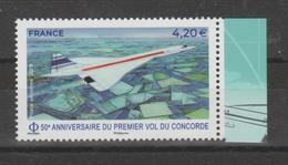 FRANCE / 2019 / Y&T PA N° 83a ** : Concorde (de Feuillet) X 1 BdF D - 1960-.... Mint/hinged