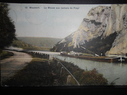 1- WAULSORT  Meuse Rochers Freyr Peniche Boat Dvd Couleurs  PORT GRATIS VERZENDING - Hastière