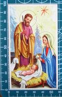 Cigno 2/050 Natività Sacra Famiglia  SANTINO Con Inno - Santini