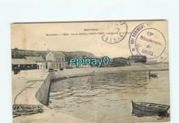 56 - ILE DE GROIX - Port Tudy - Les Quais Et Le Port - Tampon Militaire Du 88 éme Régiment - Groix