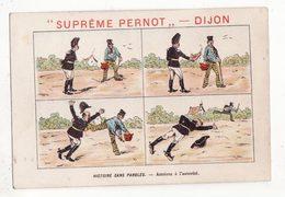 Chromo  BISCUITS PERNOT   Histoire Sans Paroles    Gendarme Et Voleur - Pernot