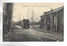 80 - FRIAUCOURT - La Gare Du Chemin De Fer D' Ault à Feuquières - Tramway - Beau Plan - Francia