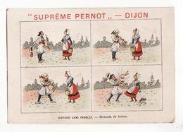 Chromo  BISCUITS PERNOT   Histoire Sans Paroles    Sérénade De Biniou - Pernot
