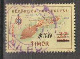 TIMOR CE AFINSA 309 - POSTMARKS OF TIMOR - Timor