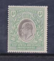 Protettorati De Africa Orientale E Uganda  1903 Gibbons N°12  4 R.nuovo MLH * Firmato AD - Protectorados De África Oriental Y Uganda