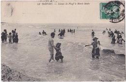 76. LE TREPORT. Scènes De Plage à Marée Haute. 156 - Le Treport