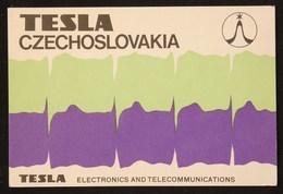 QsL Card TEsla Czechoslovakia - Radio-amateur