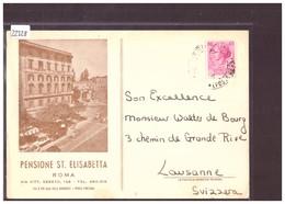 FORMAT 10x15cm - ROMA - PENSIONE ST ELISABETTA - B ( PLI A GAUCHE ) - Bars, Hotels & Restaurants
