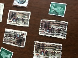USA NATALE 1 VALORE - Stamps