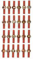 BAGUES De CIGARES : DALLAS, Série Complète De 1 à 24. - Sigarenbandjes