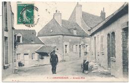CHANCEAUX  SUR CHOISILLE - Grande Rue - Francia